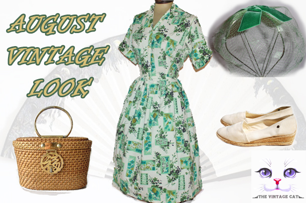 August Vintage Look