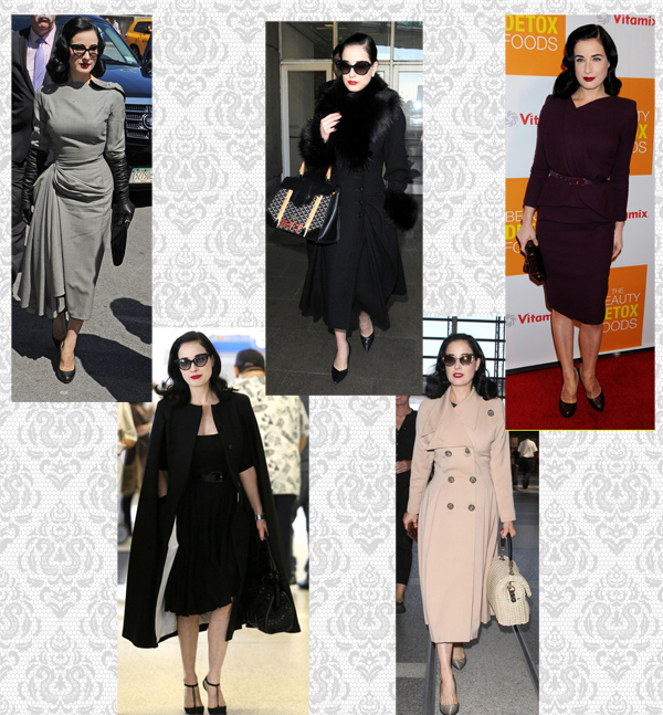 Dita Von Teese Fall ispiration by The Vintage Cat