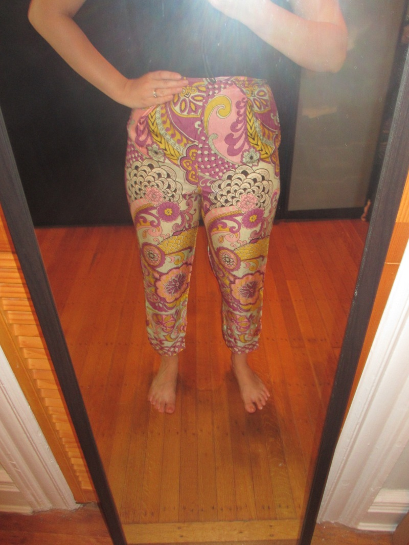 psychedelic cigarette pants