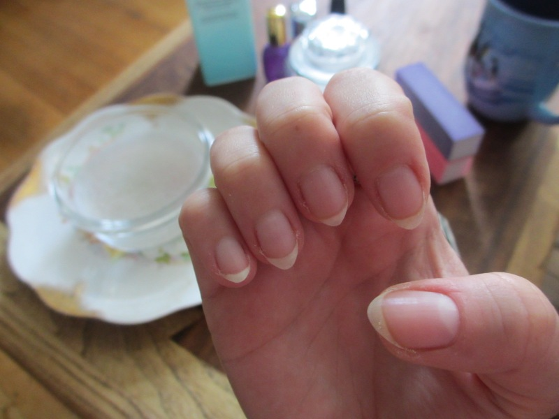 nails before