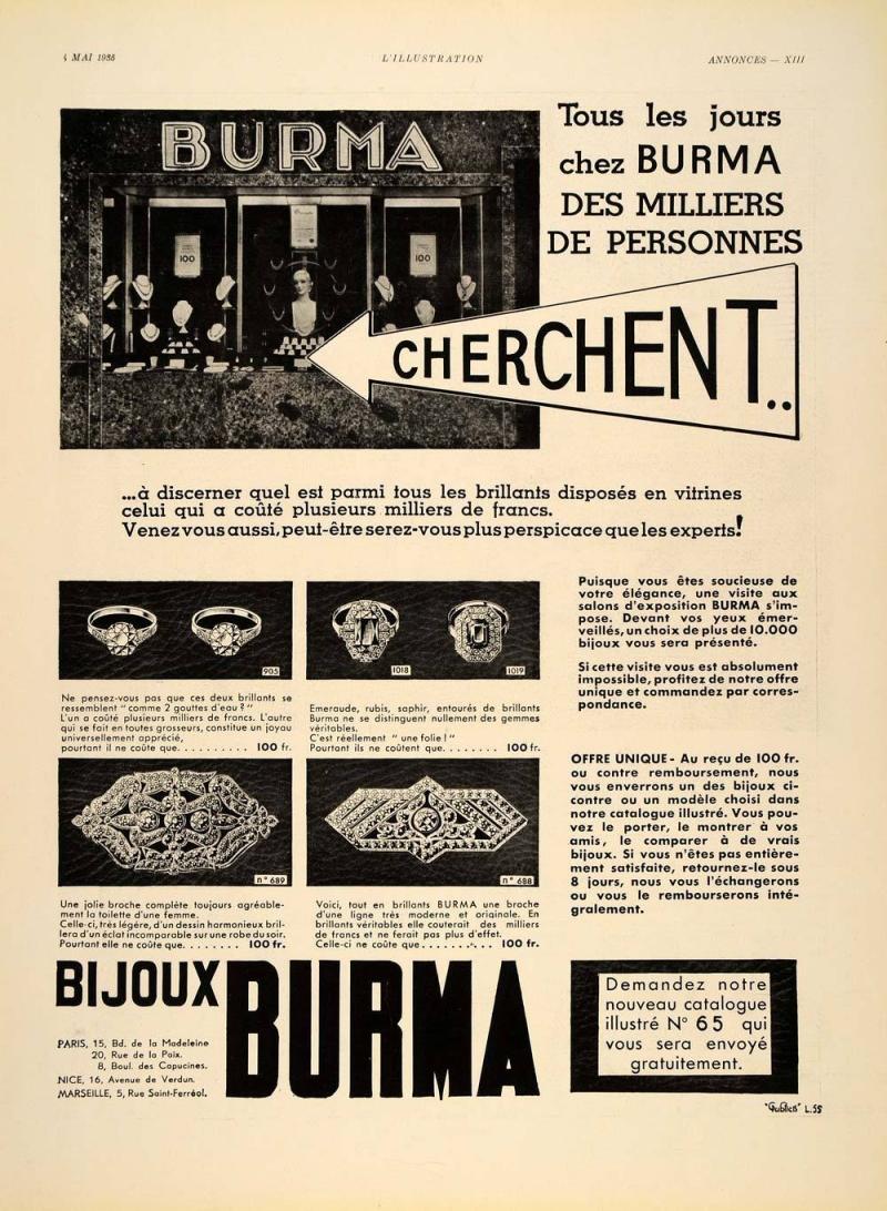 Burma advert