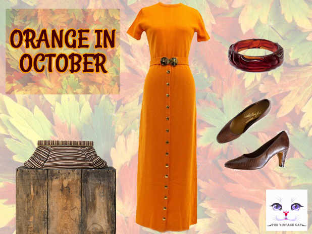 october vintage outfit
