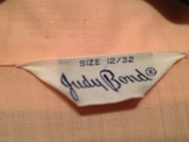 peachy blouse brand tag