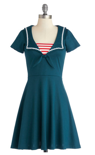 Sailoretter dress