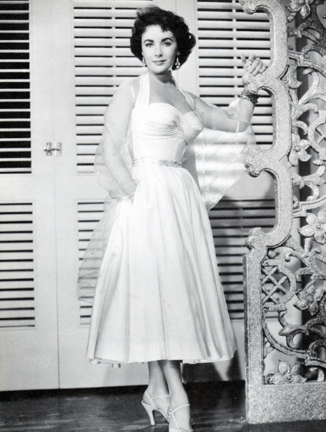 Elizabeth Taylor in Elephant Walk 1954