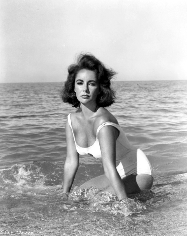 Elizabeth Taylor in Suddenly, Last Summer, 1959