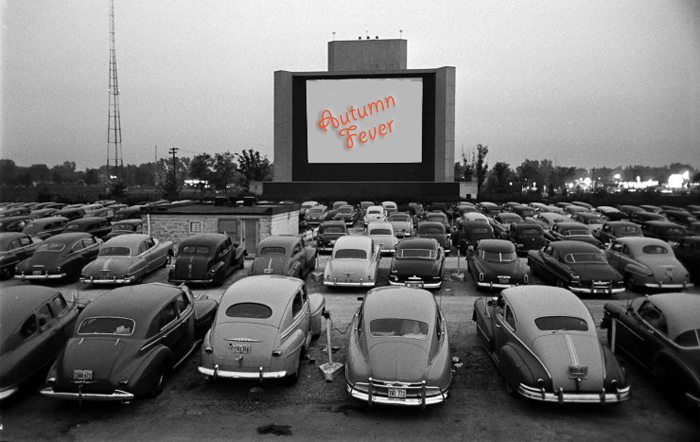 Drive-in theater 19505