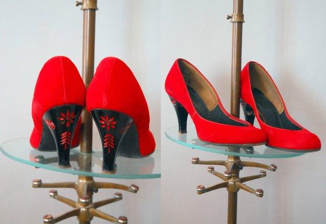 40s Red Heels